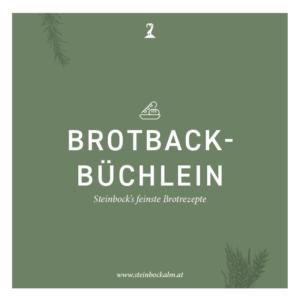 Brotbackbuch Steinbockalm
